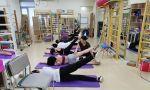 武汉工作室,在进行腰背肌核心训练的长期班学员们。